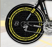 Armstrong's TT rear wheel w/icon