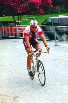 Lance Armstrong at 1996 Olympic Time Trial