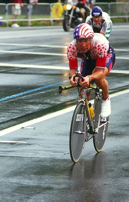 Steve Hegg at 1996 Atlanta Olympic time trial