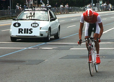 Bjarne Riis at 1996 Olympic Time Trial
